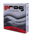 Kondomy PRIMEROS EROS lubricated 3ks